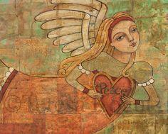 Wall Decor | Peace in Your Heart 8x10 print by Teresa Kogut