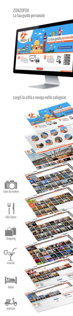 La facile navigazione di zonzofox in una slide!  http://www.zonzofox.com