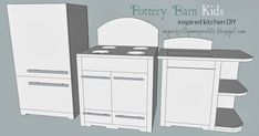 build your own pottery barn kids kitchen   Our daughters birthday is approaching fast and........ I fell in love with the pottery barn kid...