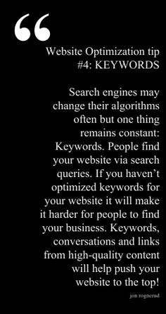 """Tip excerpted from the book """"Ultimate Guide to Optimizing Your Website, 3rd Edition"""" available on the Entrepreneur Bookstore site."""