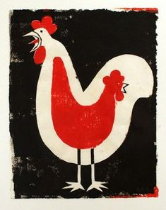 the art room plant: Edel Rodriguez II Graphic Design Illustration, Illustration Art, Book Illustrations, Chicken Illustration, Rooster Art, Chicken Art, Chickens And Roosters, Galo, Mundo Animal