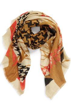 graphic print scarf http://rstyle.me/n/qr2e5r9te