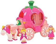 Go to http://prenatal-baby-toddler-preschool-store.co.uk/wow-toys-pippas-princess-carriage  to review WOW Toys Pippa's Princess Carriage by Wow Toys