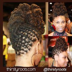 dreadlock styles - honoring African culture