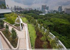 Solaris roof gardens in Singapore