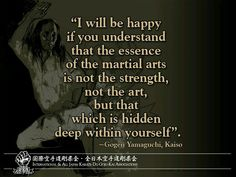 Strength of Martial Arts!