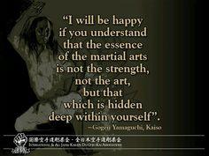 Strength of Martial Arts