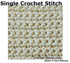 Learn How to Crochet with These Free Tutorials: Crochet Stitch Tutorials