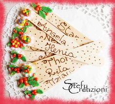 Segnaposto Natalizi Personalizzata, by Stefy Creazioni, 2,00 € su misshobby.com
