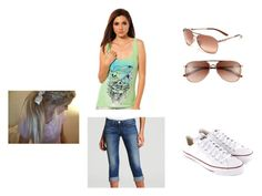 """Untitled #80"" by panda-says-free-hugs ❤ liked on Polyvore featuring Oakley, Ed Hardy, True Religion and Converse"