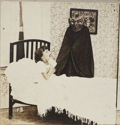 Here comes the Boogeyman. 1920s -- Looks kind of like a happy devil alien.