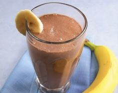 Mall Food Court Copycat Recipes: Planet Smoothie Chocolate Elvis... Oh how I miss Planet Smoothie!!