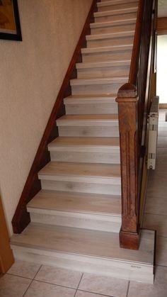 r novation d 39 escalier b ton 68510 sierentz relooking escalier bois pinterest escalier. Black Bedroom Furniture Sets. Home Design Ideas