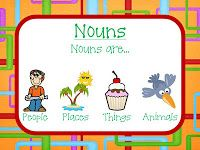 Grade School Giggles: Freebies for Nouns