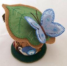 Snail Sanctuary Pincushion Art