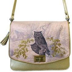 Disaster Designs Heritage and Harlequin Owl Mini Bag