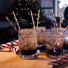 It's the seventh day of Kahlua Holiday! Mix up a round of Mind Erasers, they're the perfect cocktail for festive parties.
