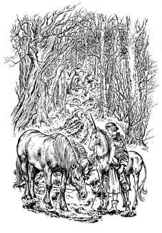 narnia pauline baynes illustrations - Google Search