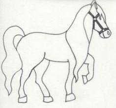 Poney dessin