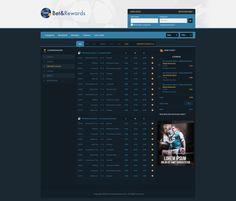 Betandreward - Website design