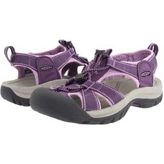 Keen Venice H2 Women's Sandals, Purple ($64) ❤ liked on Polyvore