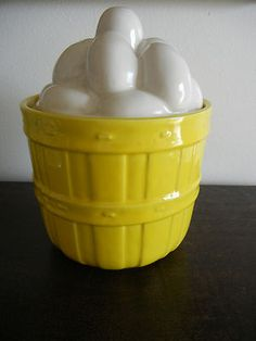 Vintage Classic McCoy Pottery Cookie Jar