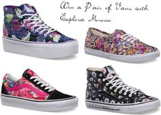 Win A Pair of Vans with Explora Morocco - on Life in a Break Down Platform Vans, Van Shoes, Cute Vans, Awesome Shoes, My Canvas, Interesting Reads, Lbd, Morocco, Scouts