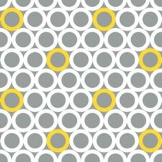 Jacqueline Savage Mcfee - Gray Matters - O Yeah in Gray  Huge collection of yellow & gray fabrics