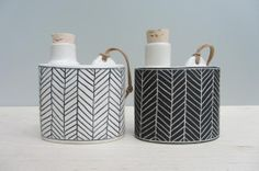 i want one of these flasks oh so much • elizabeth benotti handmade ceramics