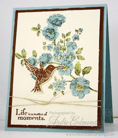 Elements of Style Color Challenge Card by InkyFingrz - Cards and Paper Crafts at Splitcoaststampers
