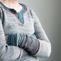 Ravelry: Trin-Annelie's 3 in 1 Knitting Stitches, Hand Knitting, Knitting Patterns, Hand Knitted Sweaters, Knit Picks, Garter Stitch, Knitting Projects, Diy Clothes, Sweater Cardigan