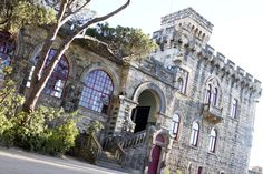 Castillo Forte da Cruz en Estoril con maravillosas vistas al mar donde celebraron el cocktail el día anterior. http://www.byarantxasandua.com/bodas/montse-y-eduardo/ Reportajes Bodas. Fotografia Bodas. Wedding. Fotos Boda.