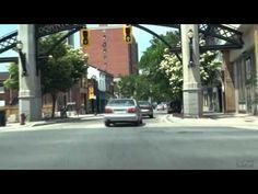 Driving Around Hamilton, Ontario  A Unique Prespective  -July 2011