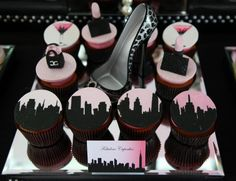 Sex and the city party centerpiece