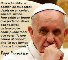 El Papa Francisco nos exhorta a llevar a la humanidad el tesoro de Cristo