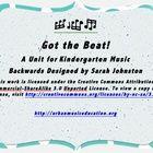 A Steady Beat Unit for Kindergarten Music...