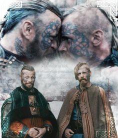 Harald and Halfdan Vikings Season 4, Vikings 2, Vikings Show, Vikings Tv Series, Lagertha, Viking Wallpaper, Viking Pictures, Valhalla Viking, Viking Character