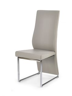 This stylish dining chair will stand proud around your new modern dining table These chairs look great around a dining table with a little mix of Faux Leather Dining Chairs, Modern Dining Table, Dining Room Chairs, Pu Leather, Accent Chairs, Design, Furniture, Home Decor, Products