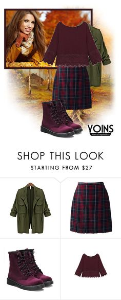 """""""Yoins 6"""" by barbara-996 ❤ liked on Polyvore featuring Lands' End, yoins, yoinscollection and loveyoins"""