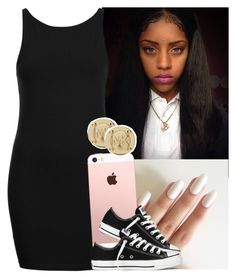 """""""✨"""" by saucinonyou999 ❤ liked on Polyvore featuring Topshop, Converse and Michael Kors"""