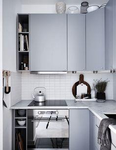 Black bedroom, light home - via cocolapinedesign.com