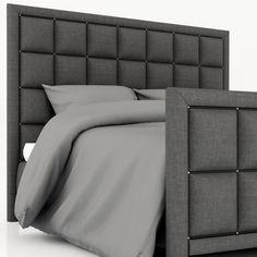 roybosh Морриса кровать 3d модель