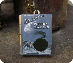 Harry Potter Advanced Potion Making Wizard textbook by touchsoul, $3.99