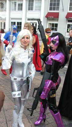 Silver Sable & Domino