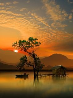 ~~In the morning | sunrise on the lake | by iD's~~
