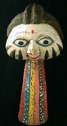 Yoruba Gelede mask from Nigeria, Africa