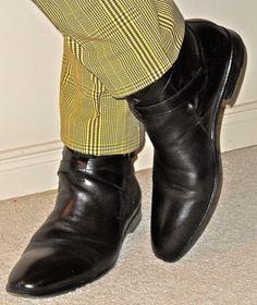 Hugo Boss jodhpur boots, One Seven Two pants