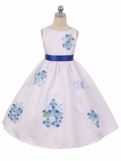 Kids Dream Baby Girls Blue Shantung Flower Petals Special Occasion Dress *** Continue to the product at the image link. (This is an affiliate link) Dress Flower, Flower Girl Dresses, Flower Girls, Girls Special Occasion Dresses, Girls Dresses, Flower Petals, Blue Flowers, Baby Girls, Tea Length Skirt
