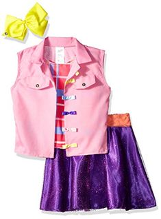 Rubie's Costume Co Jojo Siwa Boomerang Music Video Outfit Costume, Multicolor, Large Best Halloween Costumes & Dresses USA Jojo Siwa Boomerang, Boomerang Video, Jojo Siwa Outfits, Jojo Siwa Birthday, African Dresses For Kids, Jojo Bows, Baby Girl Toys, Cute Girl Face, Halloween Costumes For Girls