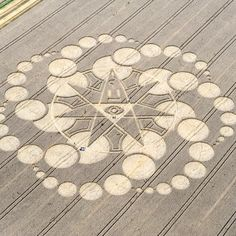 Crop Circle at Alton Priors, Wiltshire, UK - 25 August 2008
